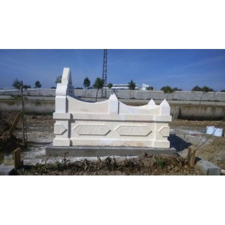 kabartma beyaz mezar