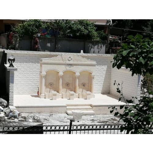 Sivas-Değirmenli köyü dört sütunlu çeşme