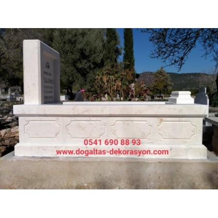 İçe Oymalı Beyaz Mezar Modeli